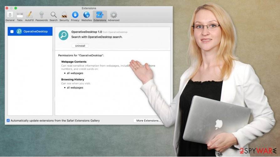 OperativeDesktop Mac virus