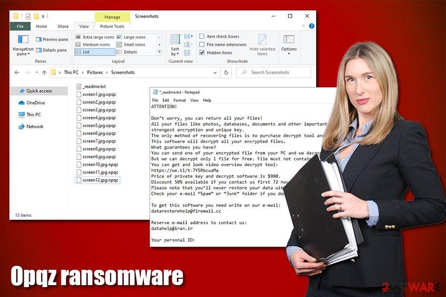 Opqz ransomware virus