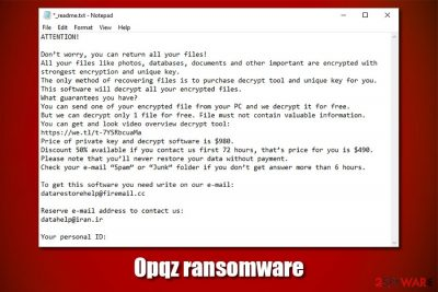 Opqz ransomware