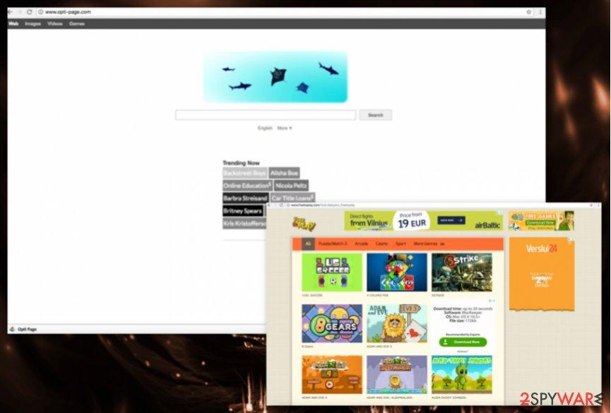 Opti-Page.com redirect