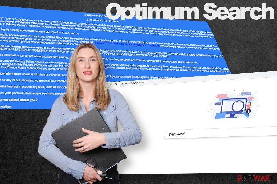 Optimum Search browser hijacker