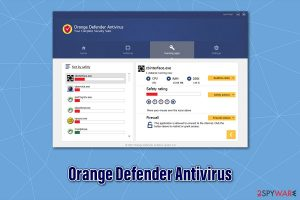 Orange Defender Antivirus