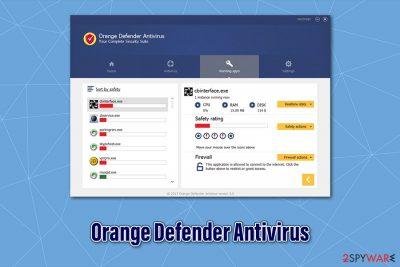 Orange Defender Antivirus
