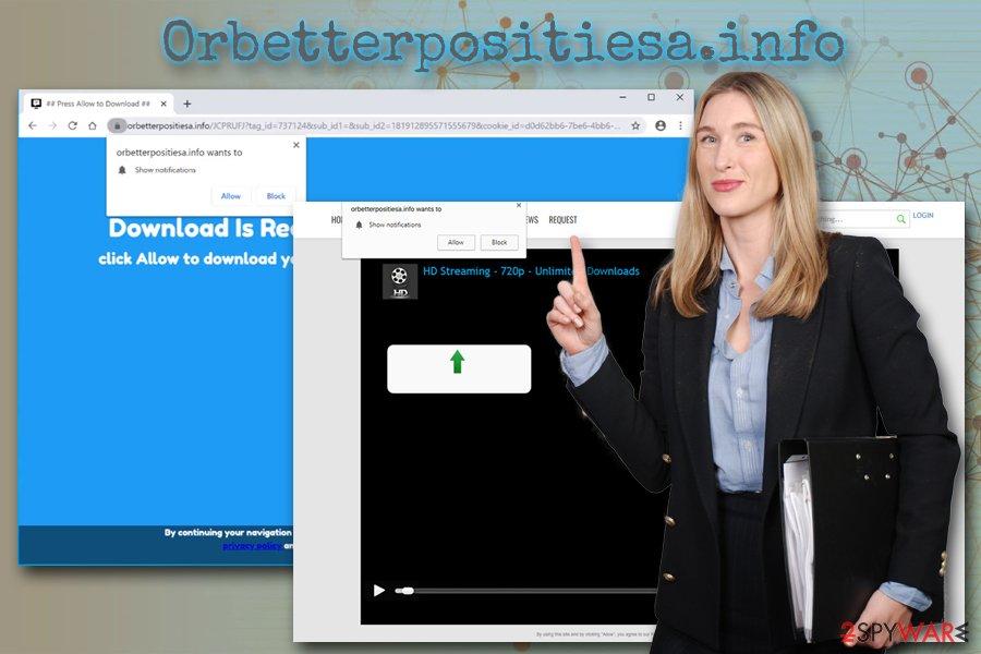 Orbetterpositiesa.info ads