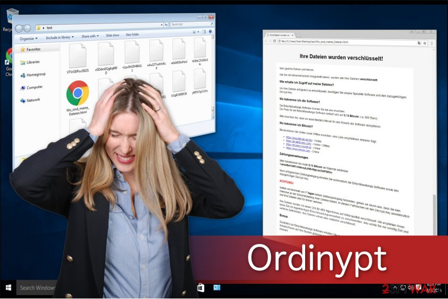 Ordinypt ransomware spreads as a fake job resume