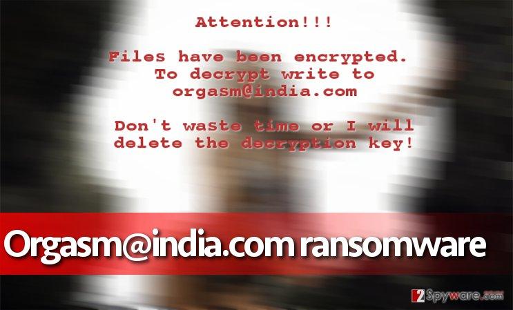Orgasm@india.com virus
