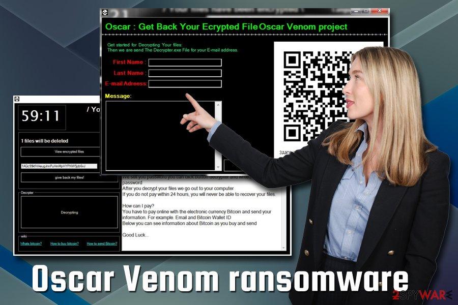 Oscar Venom ransomware virus