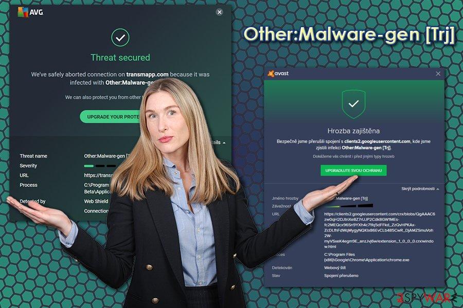 Other:Malware-gen [Trj] virus