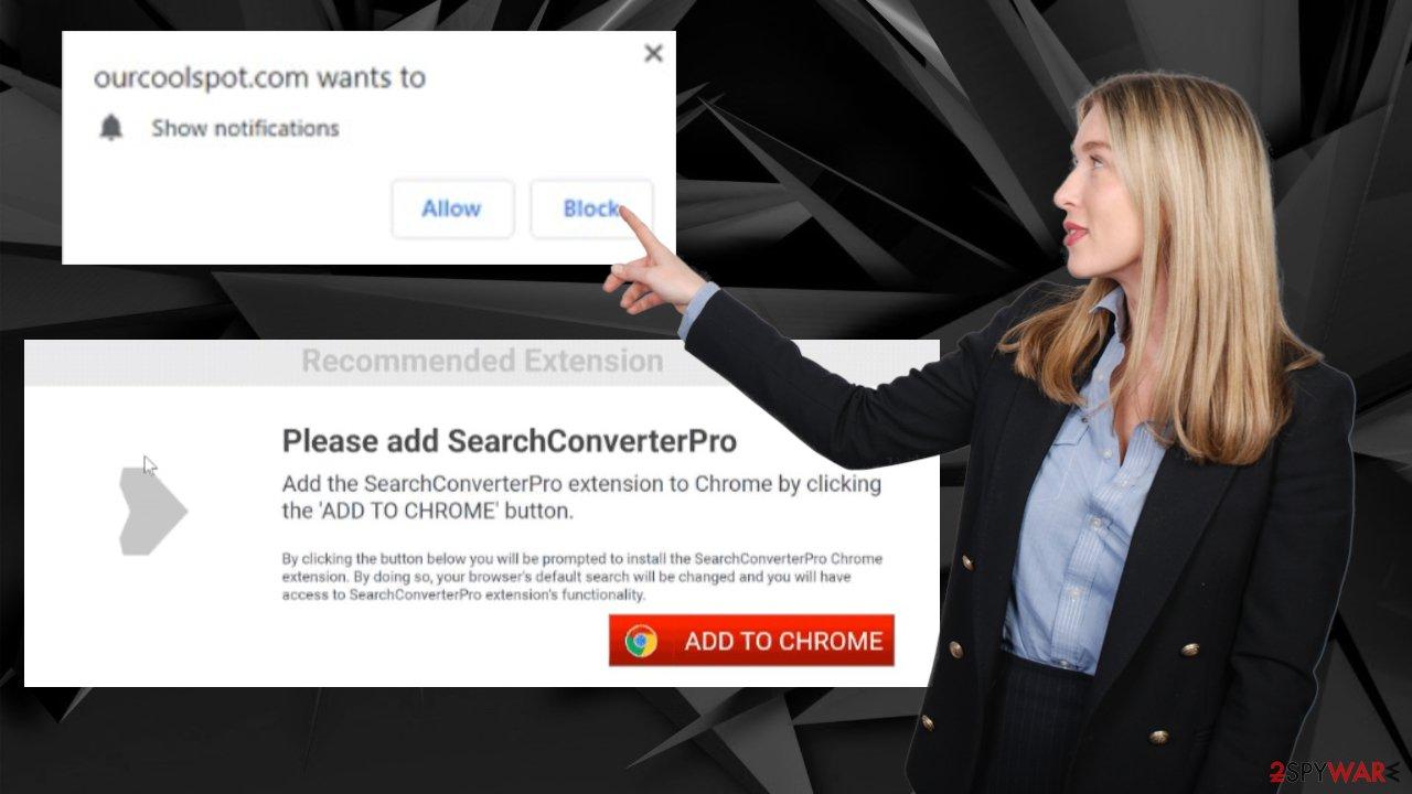 Ourcoolspot.com ads