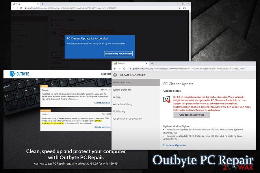 Outbyte PC Repair affiliates