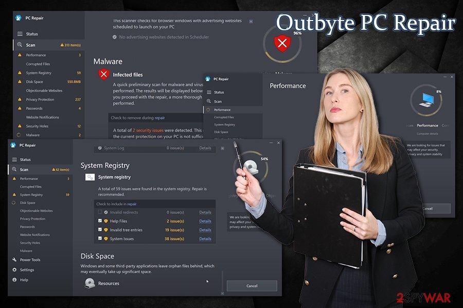 Outbyte PC Repair optimizer