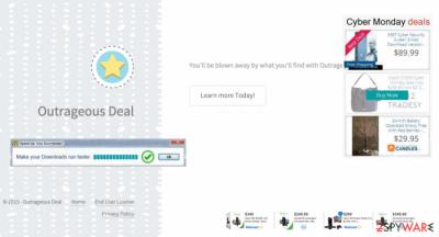 Outrageous Deal virus