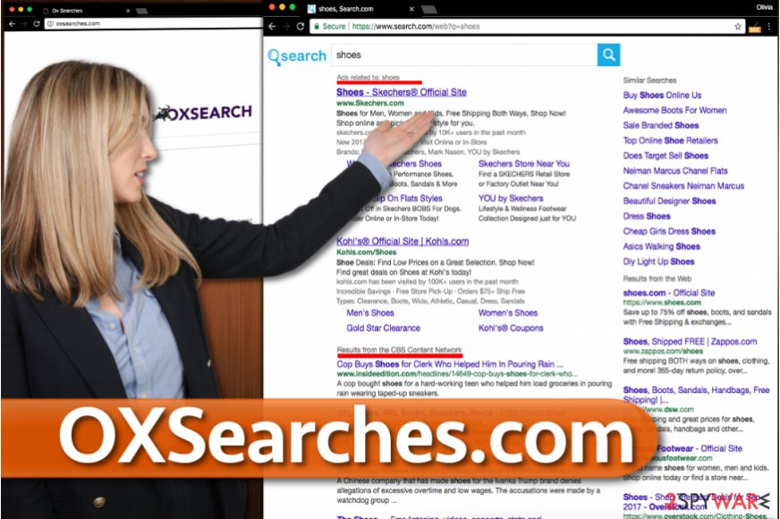 OxSearches.com redirect virus