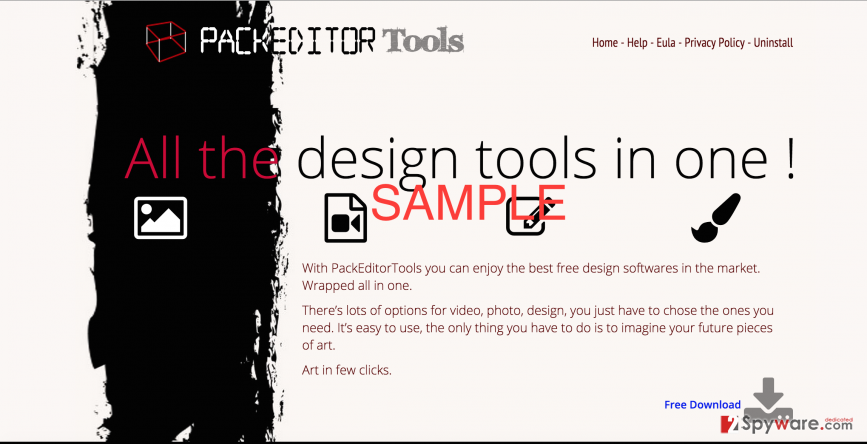 PackEditorTools page