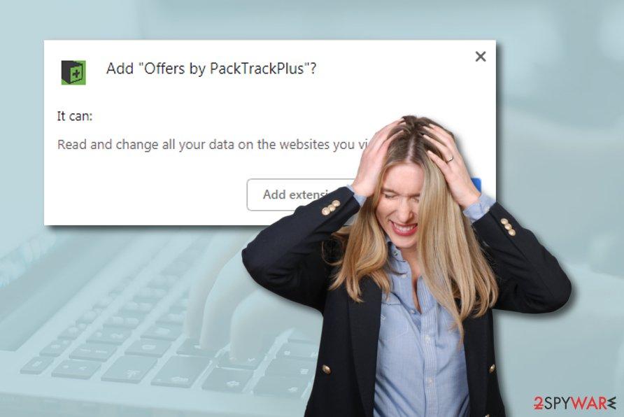PackTrackPlus advertising program