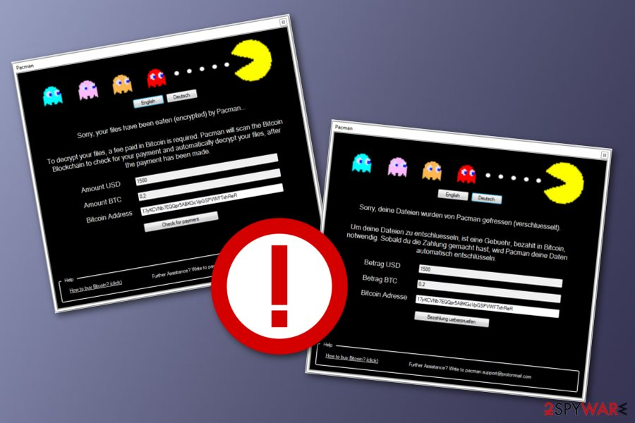 PacMan ransomware