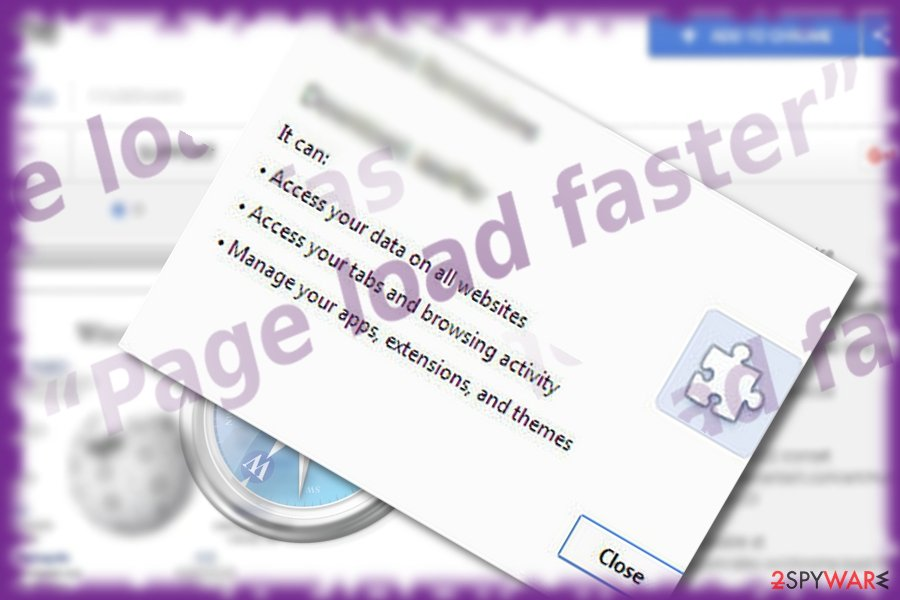The image of Page Load Faster