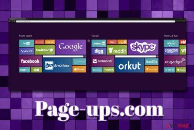 Page-ups.com virus