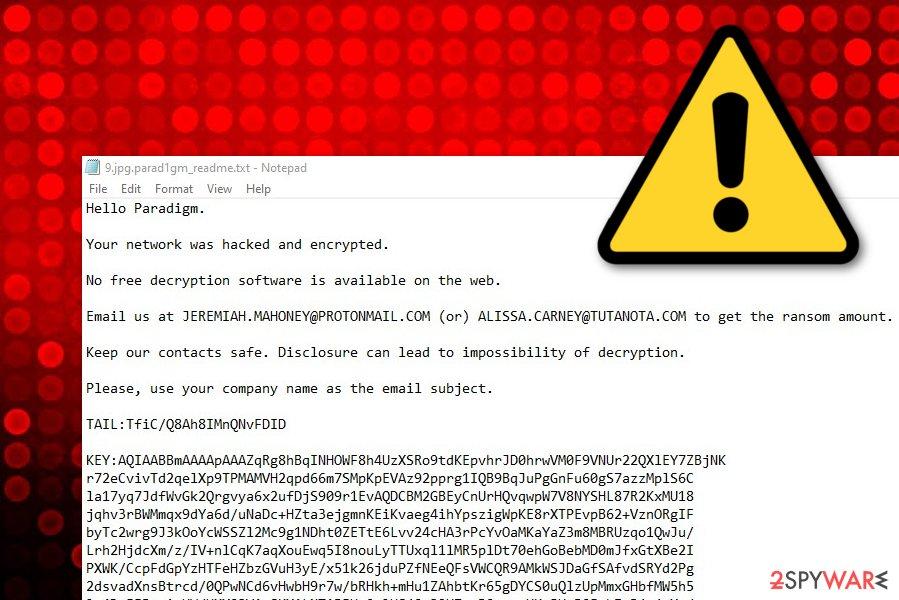 Parad1gm malware