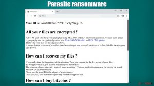 Parasite ransomware