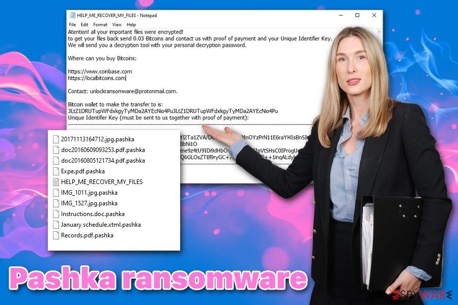 Pashka ransomware virus
