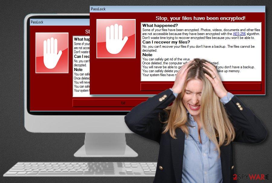 PassLock ransomware