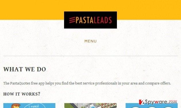 PastaLeads snapshot