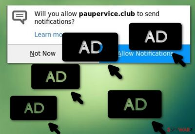 Paupervice.club adware