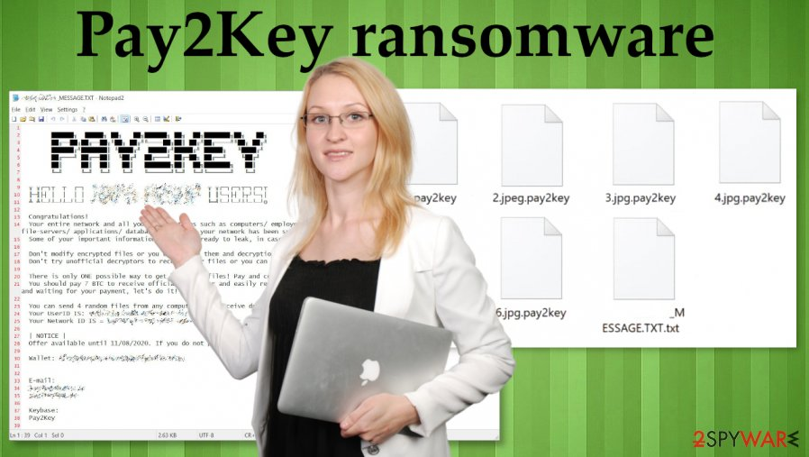 Pay2Key ransomware virus