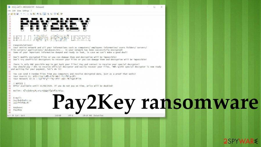 Pay2Key ransomware