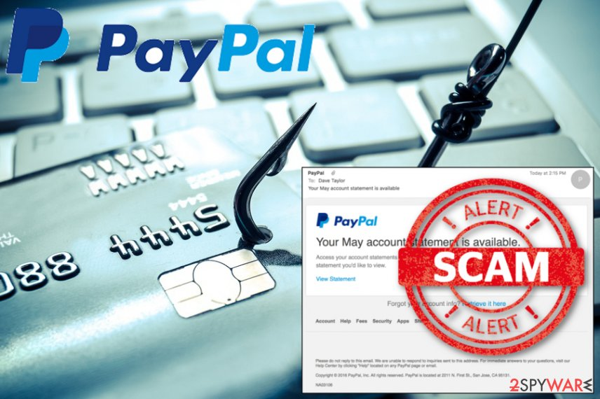PayPal virus phishing campaign