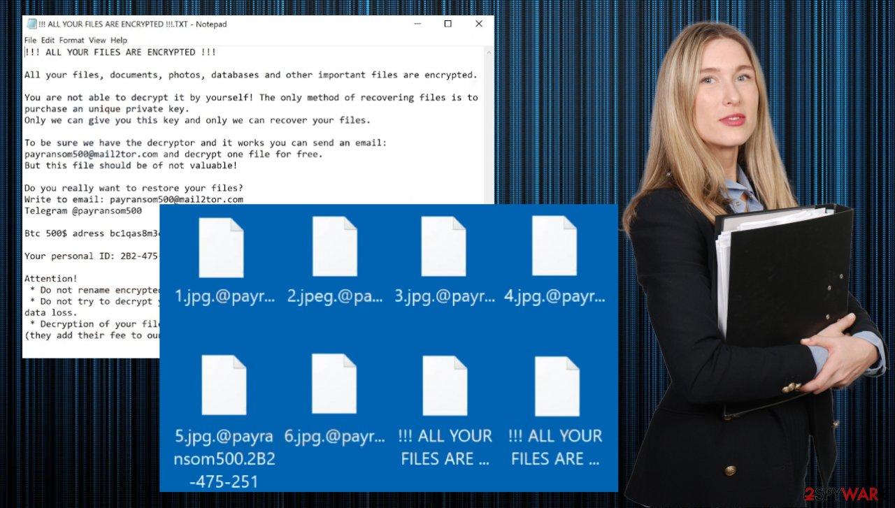 Payransom500 ransomware