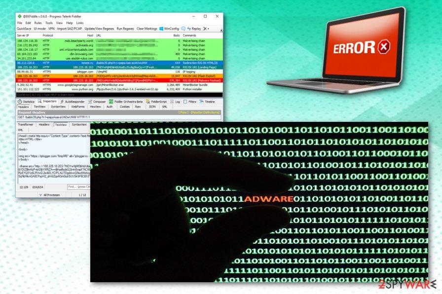 PBot adware-type virus