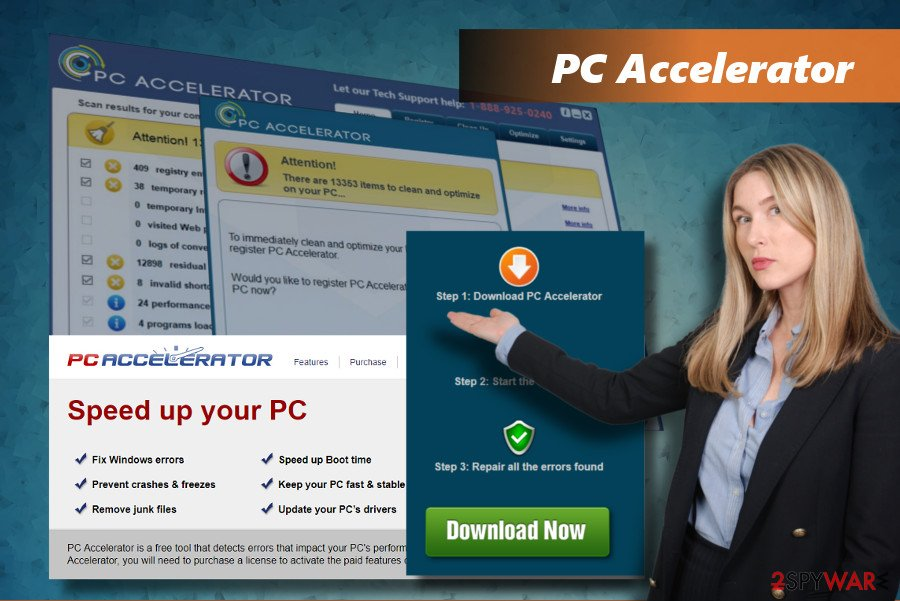 PC Accelerator PUP displays untrustworthy scan results