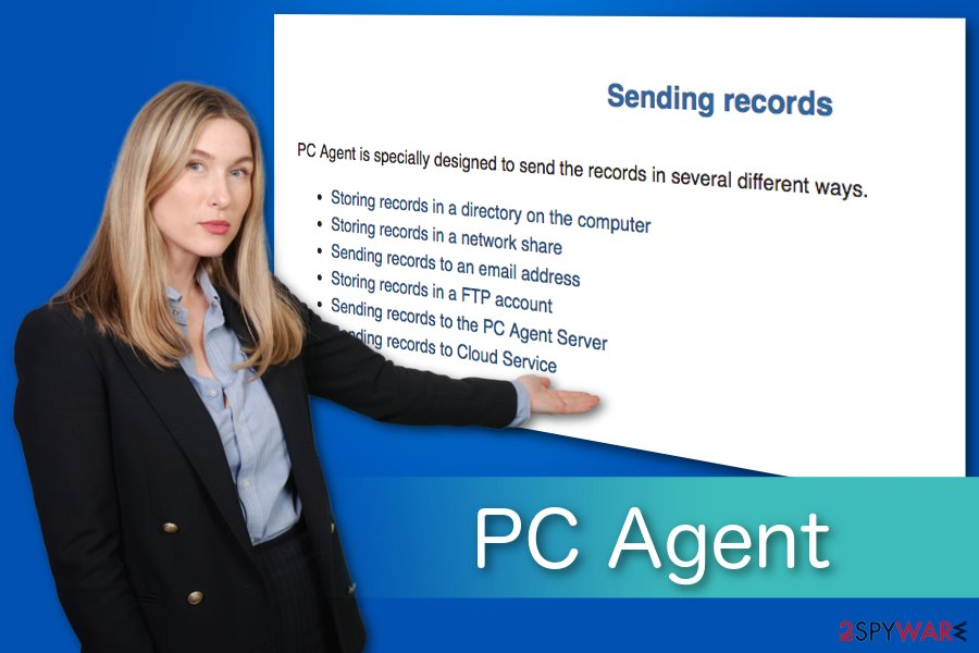PC Agent illustration