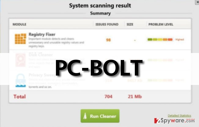 PC-BOLT questionable scan results