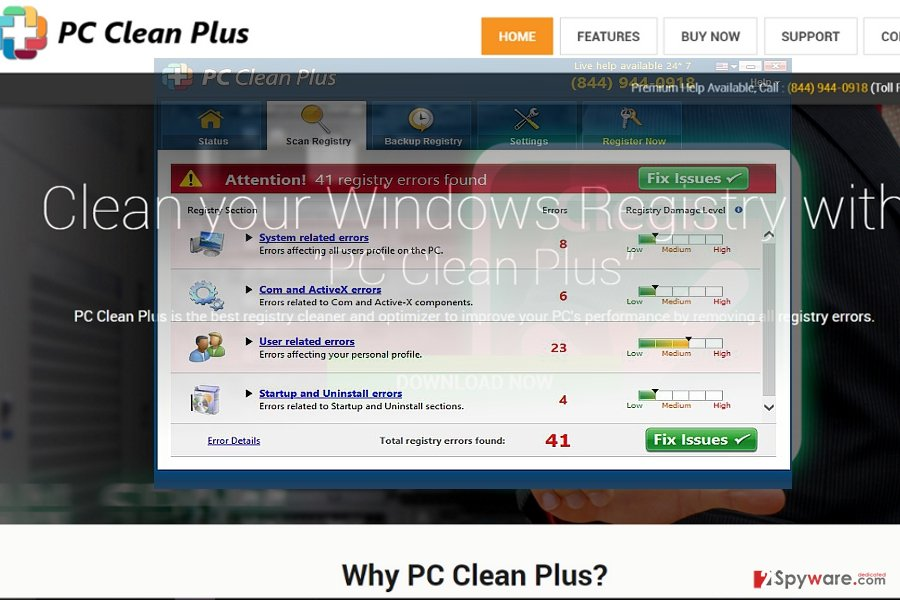 The image of PC Clean Plus