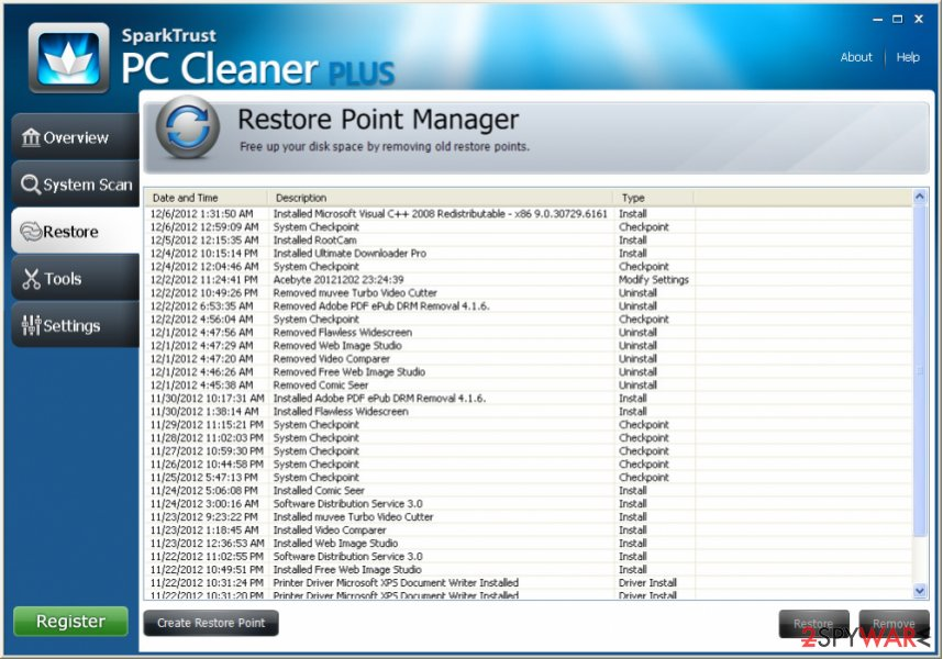 PC Cleaner Plus virus