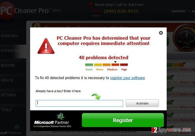 PC Cleaner Pro 2012 snapshot