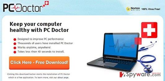 PC Doctor snapshot