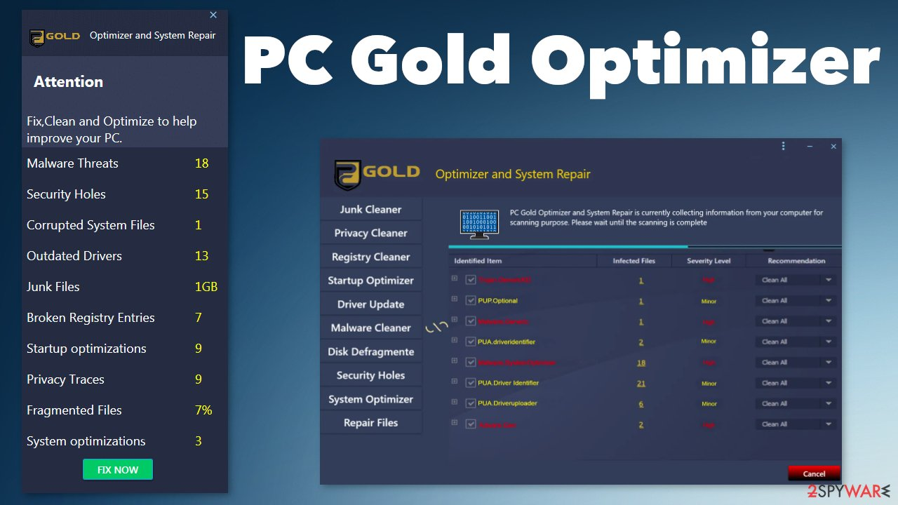 PC Gold Optimizer