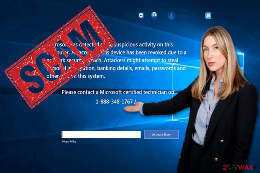 PCGuardian Registry Cleaner scam screen