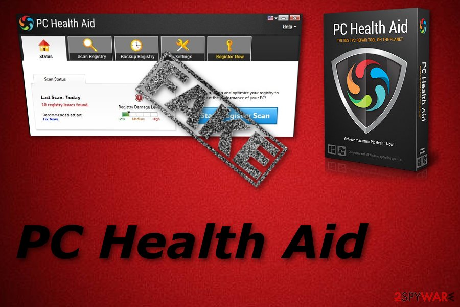PC Health Aid system tool