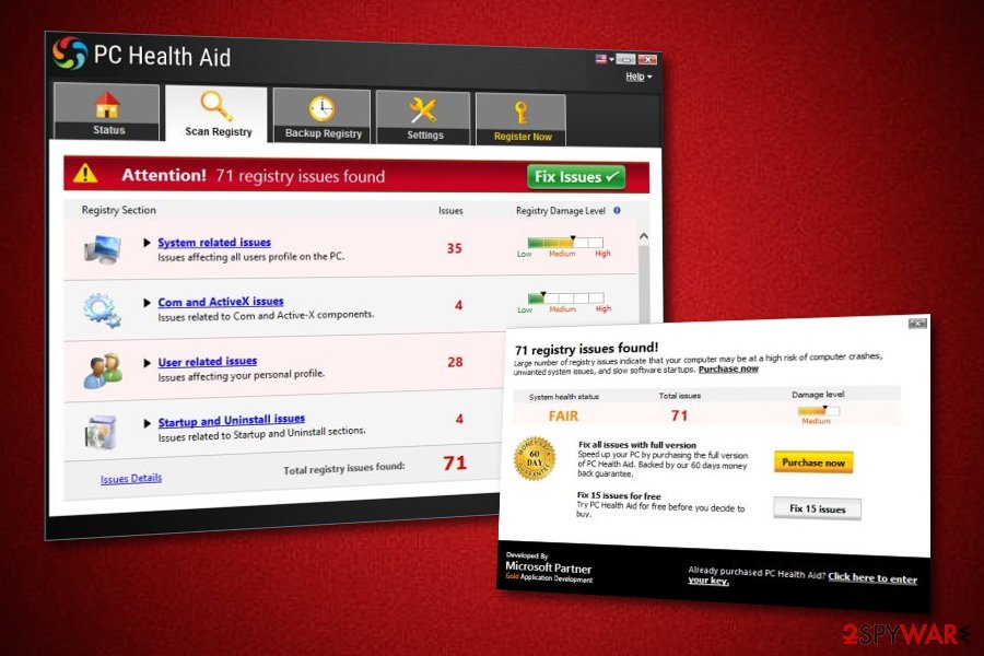 PC Health Aid optimizer