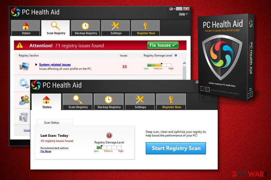 PC Health Aid optimization program