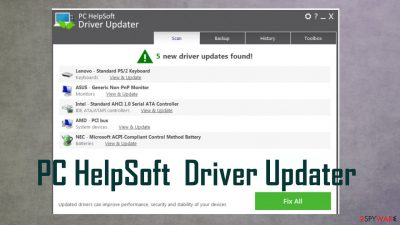 PC HelpSoft Driver Updater