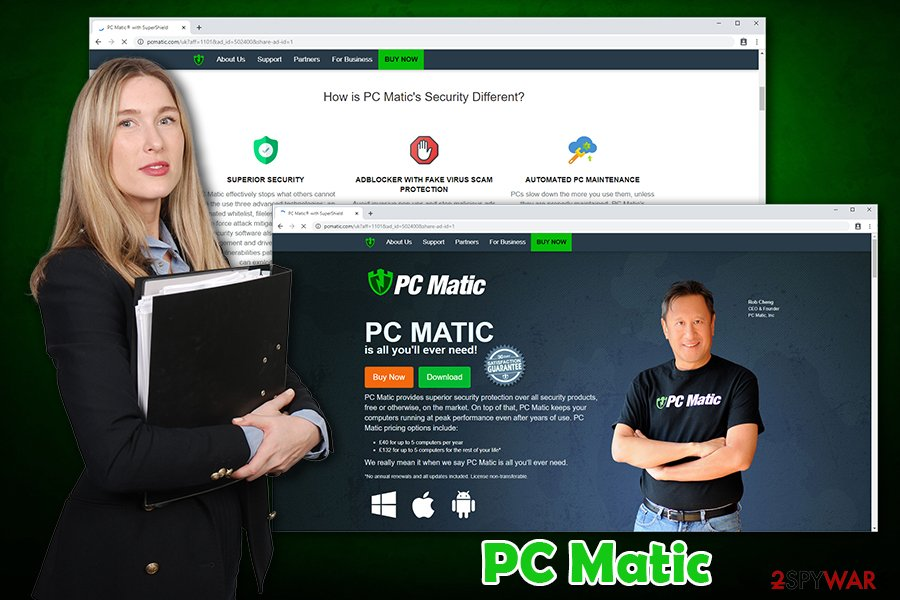 PC Matic software