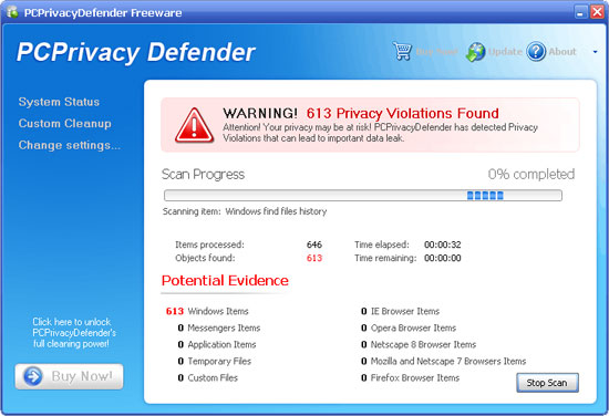 PC Privacy Defender