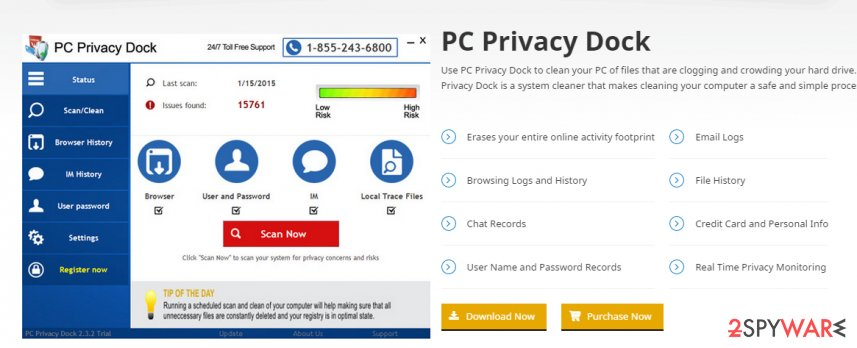 PC Privacy Dock virus