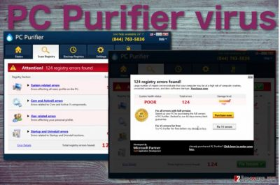 PC Purifier virus screenshot